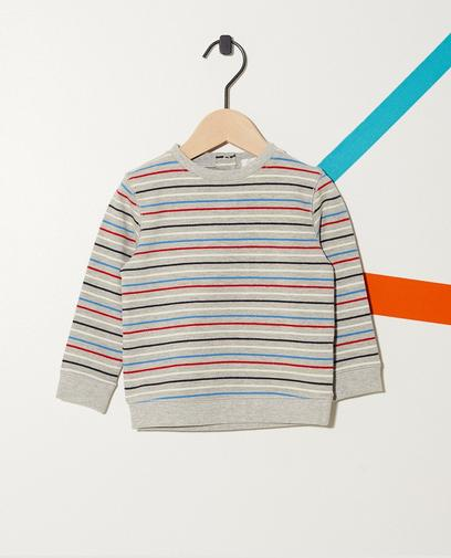 Gestreifter Sweater